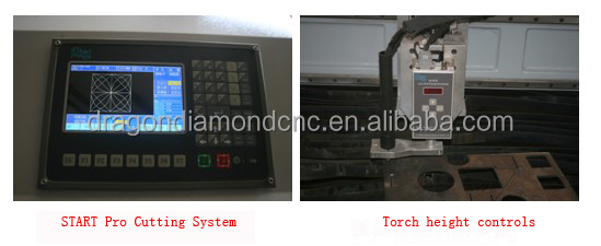 New Model CNC Cutting Plasma Machine for Metal/Metal CNC Plasma Cutting Machine LZ-M1330