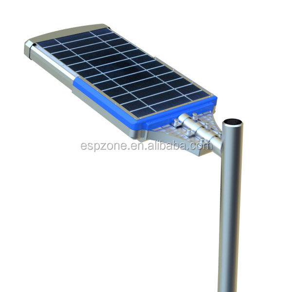 High Lumen All In One Solar Street Lighting Lamp Pole Price, View ...