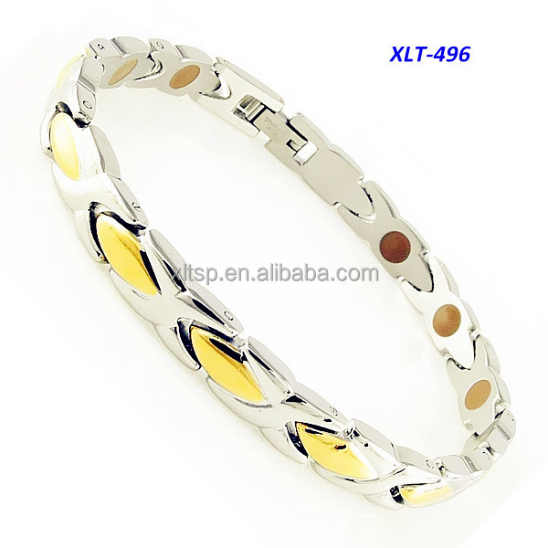 Korea most popular germanium powder women titanium bracelet