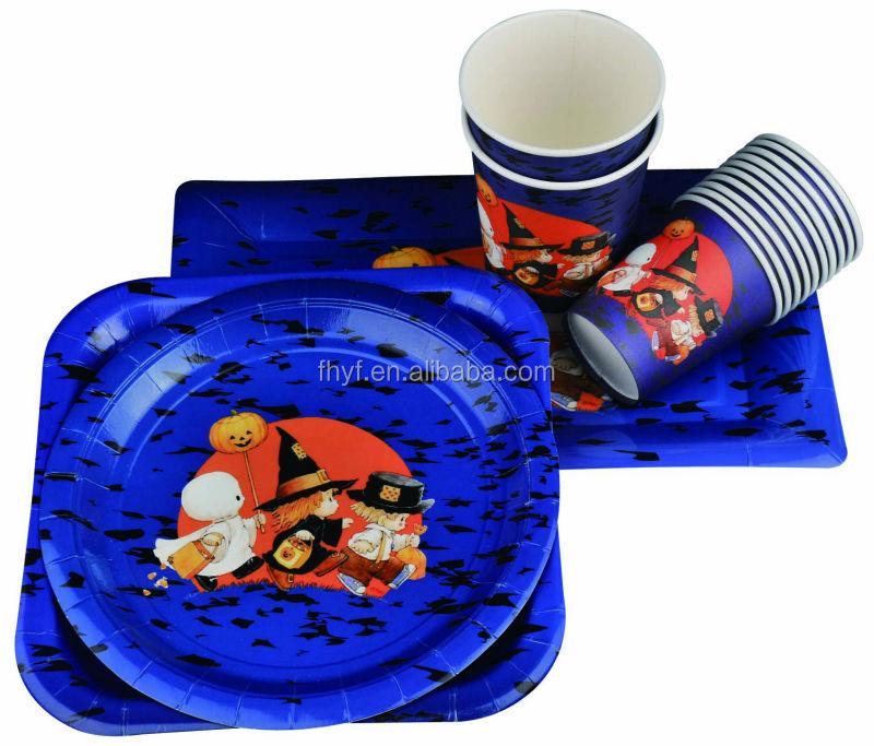 9  square Birthday design food grade shaped paper plate  sc 1 st  Ningbo Fenghua Yongfa Printing Stationery Co. Ltd. - Alibaba & 9