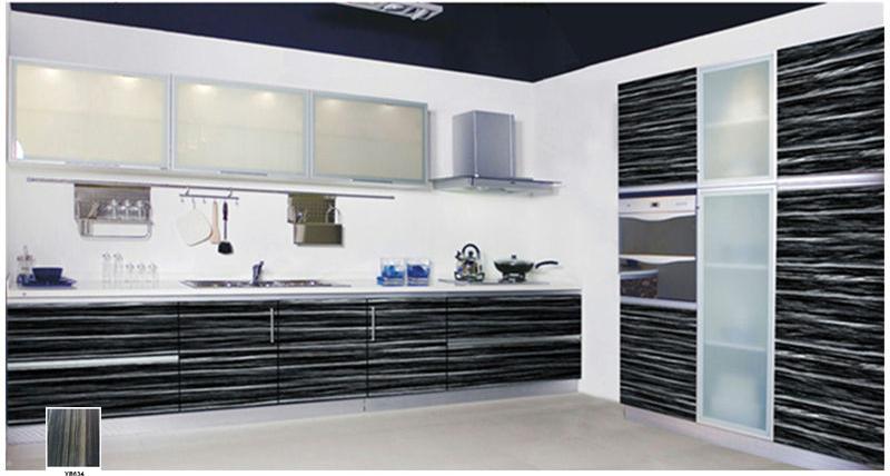 Flower design mdf acrylic sheet used on kitchen cabinet for Acrylic kitchen cabinets prices