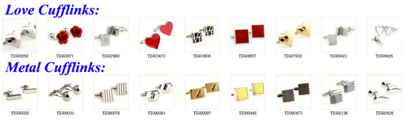 Fashion Stainless Steel Wedding Cufflink