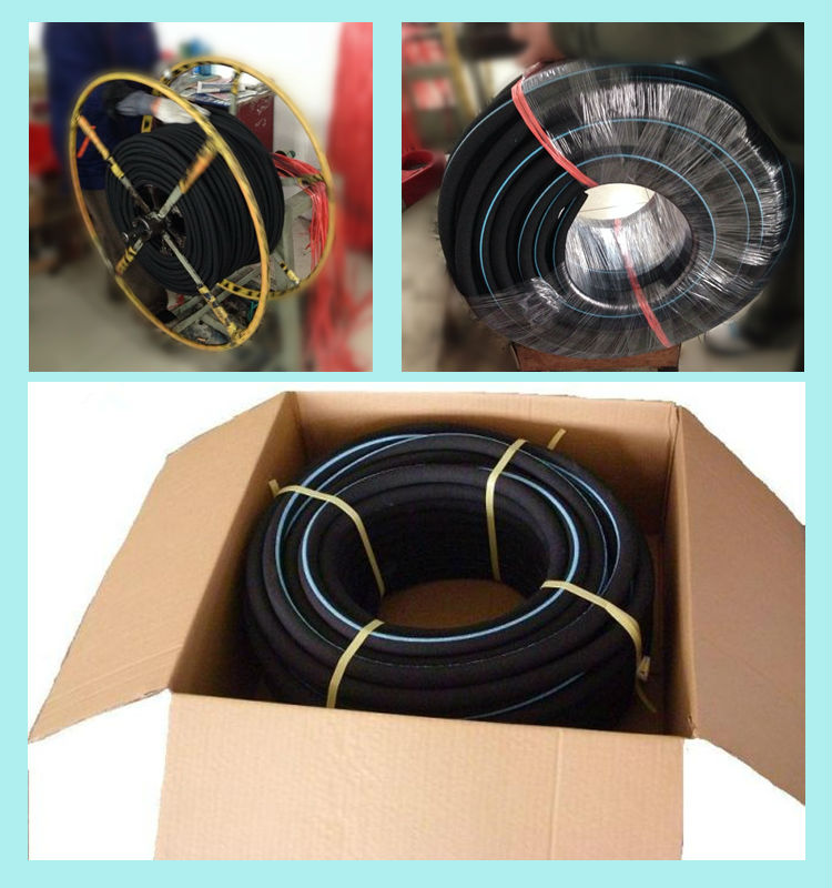 microporous rubber hose for water treatment