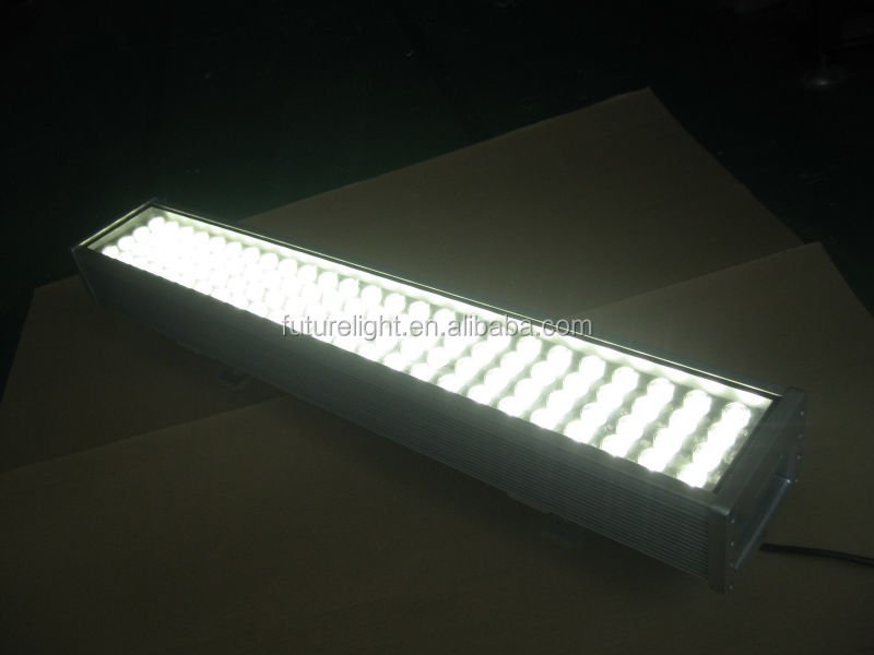 Hot selling IP65 4000k warm white led wall washer 100w