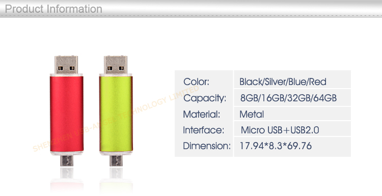 factory direct wholesale USB flash drives, USB flash drives for Android mobile phone