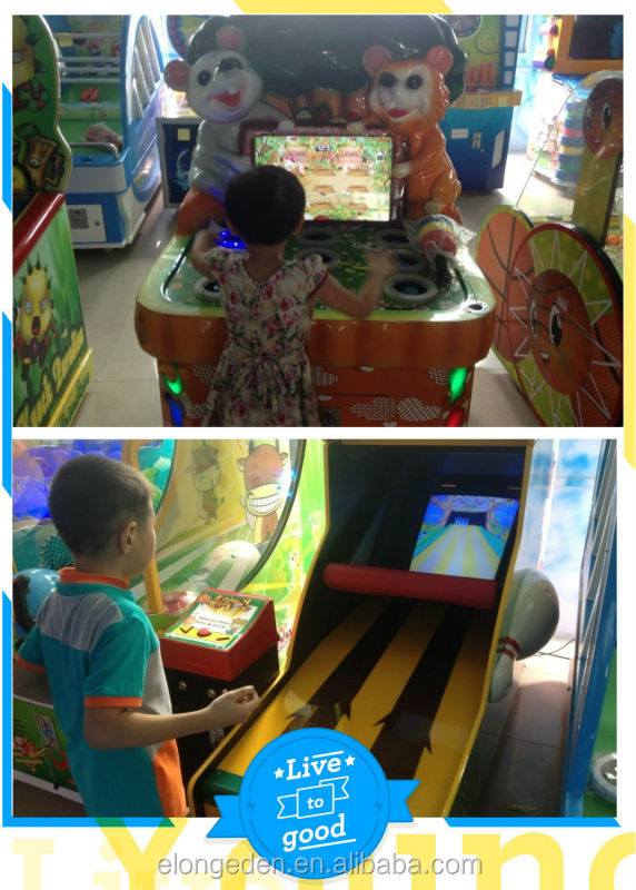 2014 Stimulator shooting game machine, Razing Storm shooting gallery