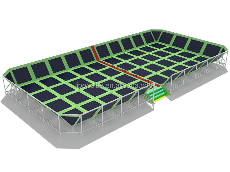 Large Indoor gymnastics Trampoline Park for Amusement LE.BC.052