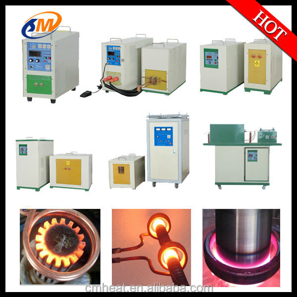 made in china high frequency induction braze harden heater