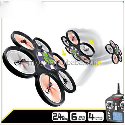 New arrival ABS foam 2.4G 4 channel 6-axis big size rc skywalker quad copter