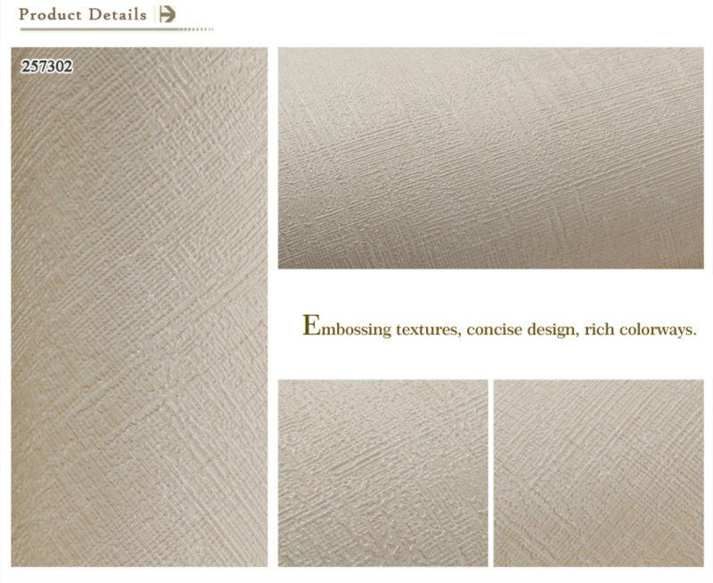 Hot Sales Embossing Textures Bathroom Vinyl Wallpaper