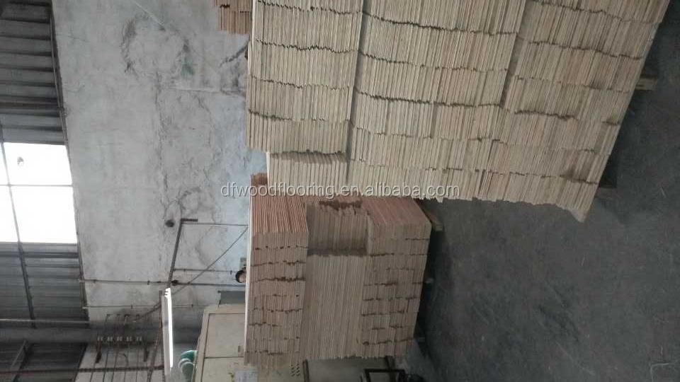 2014 african yellow sandalwood multilayer engineered wood for Hardwood flooring companies near me