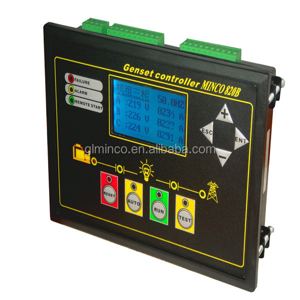 Voltage Monitoring Device : Minco b generator controller phase voltage monitoring