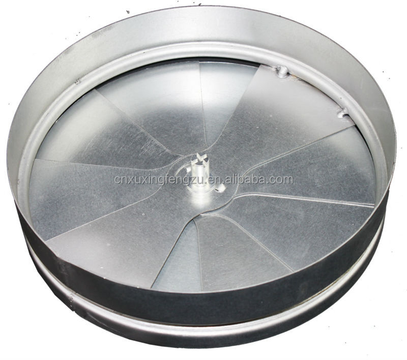Ventilation Adjustable Duct Damper Round Ceiling Diffuser