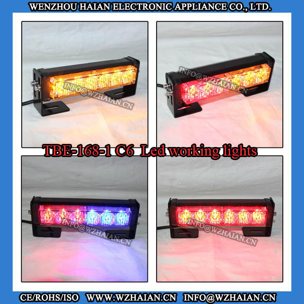 6W Led Warning Deck Lights Vehicle Equipment