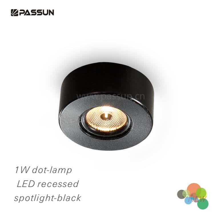 Small Decorative Spotlight: 1 Watt Mini Ra90 Recessed Led Ceiling Spotlights For