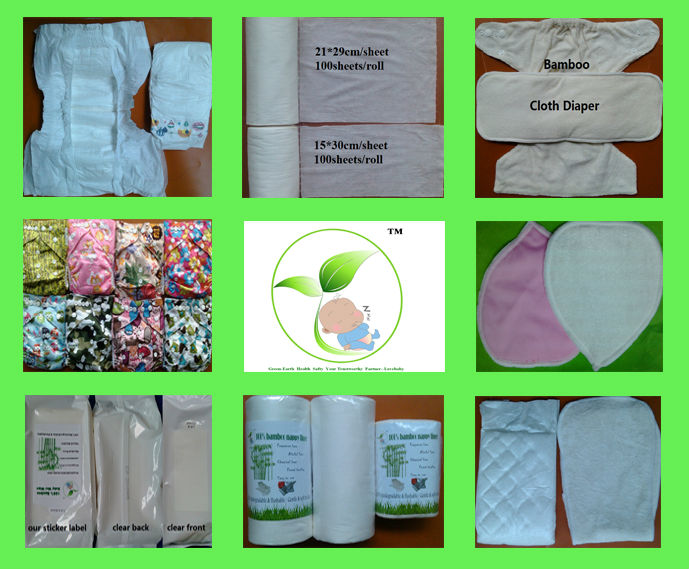 100% biodegradable & fushable liner, bamboo nappy liner, diaper liner,disposable cloth diaper liner