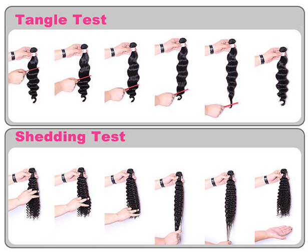 Christmas big discount, short length loose curly wavy remy hair