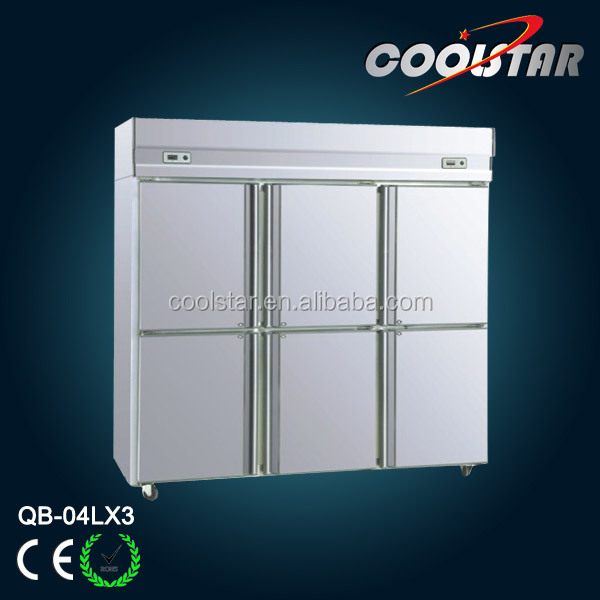 Stainless Steel commercial kitchen upright refrigerator