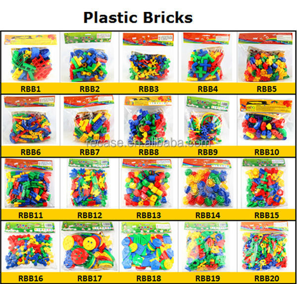 Educational plastic bricks funny children game