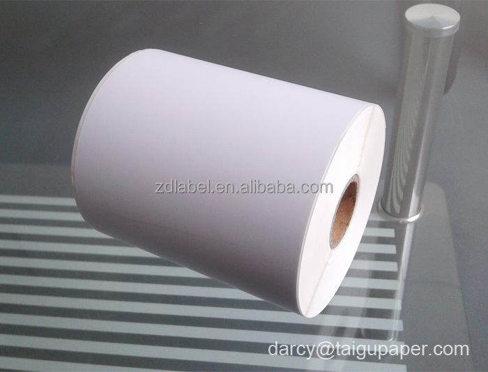 Factory wholesale blank shipping labels for packaging and labeling or roll blank label sticker