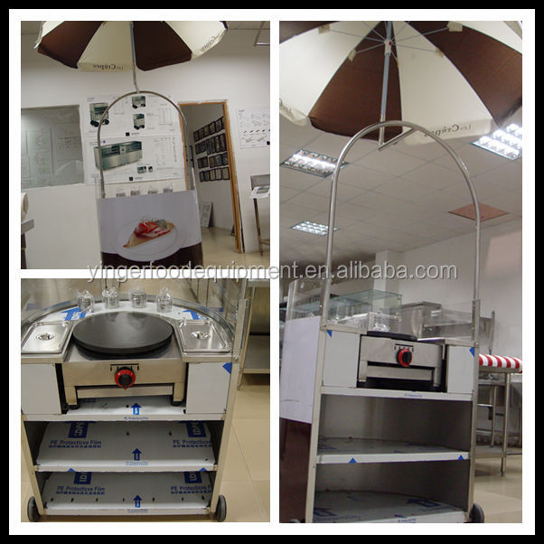 Mobile used food cart/ food carts for sale