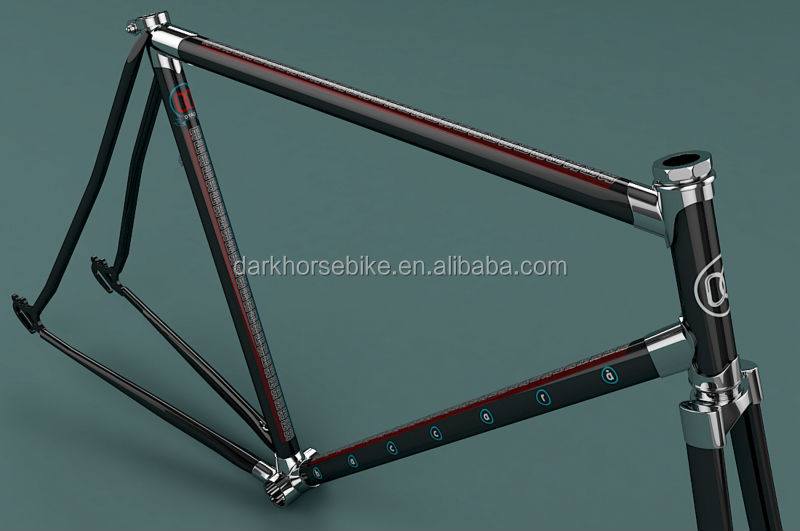 28inch lugged city bike frame and fork chromoly cr mo steel