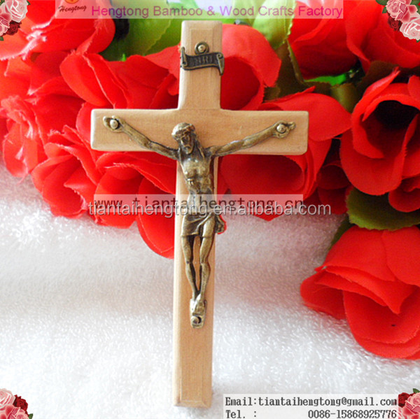 12cm religious wooden cross, jesus on the cross, wall cross cross