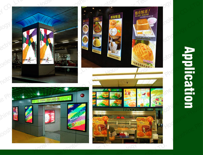 high quality exhibition light box