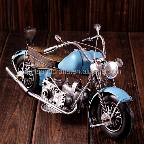 Collection of harley motor metal craft motorcycle model for home decoration