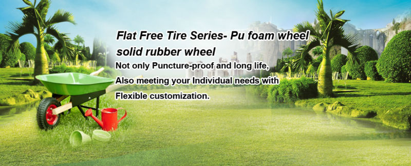 Quality Factory 3.00-4 260x85 Pu foam Wheel For Tool Cart