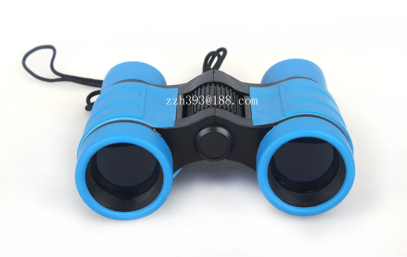 4x30 china low price hotsell kids binoculars/ plastictoy binoculars made in china / rubber eyecup binoculars/