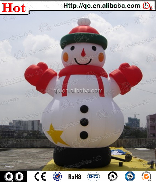 2015 newly customized outdoor giant inflatable abominable for Abominable snowman holiday decoration