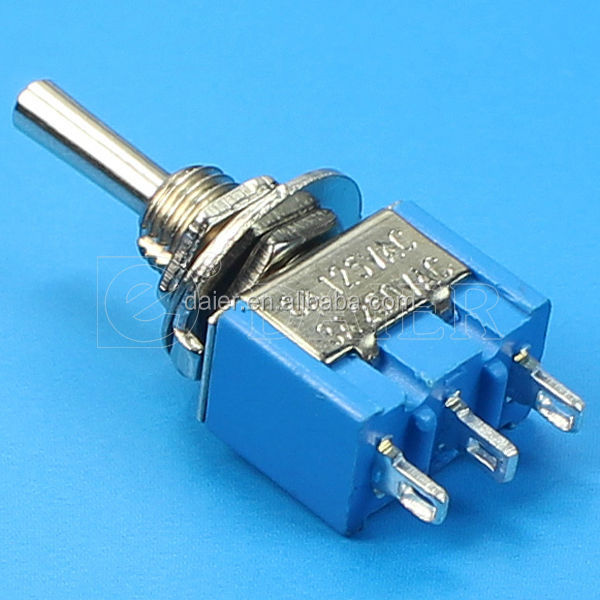 Wholesale 3-way on off on momentary toggle switch/3 pin toggle ...