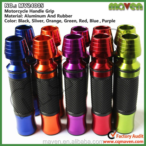 Wholesale High Quality Rubber Aluminum Motorcycle Grips Covers China