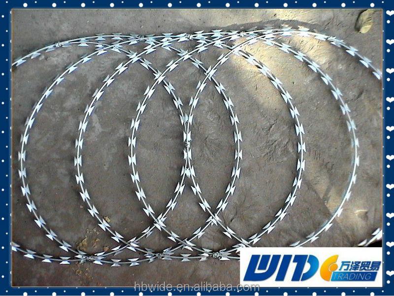 Concertina Razor Wire/Concertina Wire/Razor barbed wire Verified
