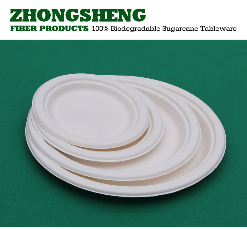 biodegradable 7 inch round paper plates