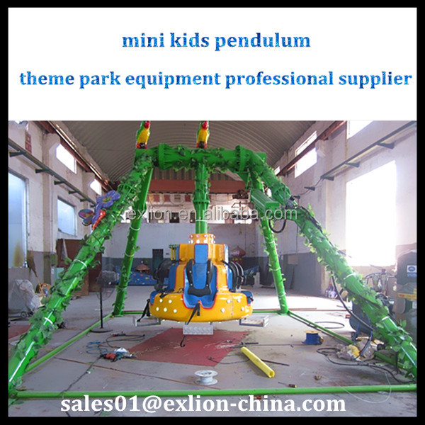 Children outdoor games kids ride mini pendulum