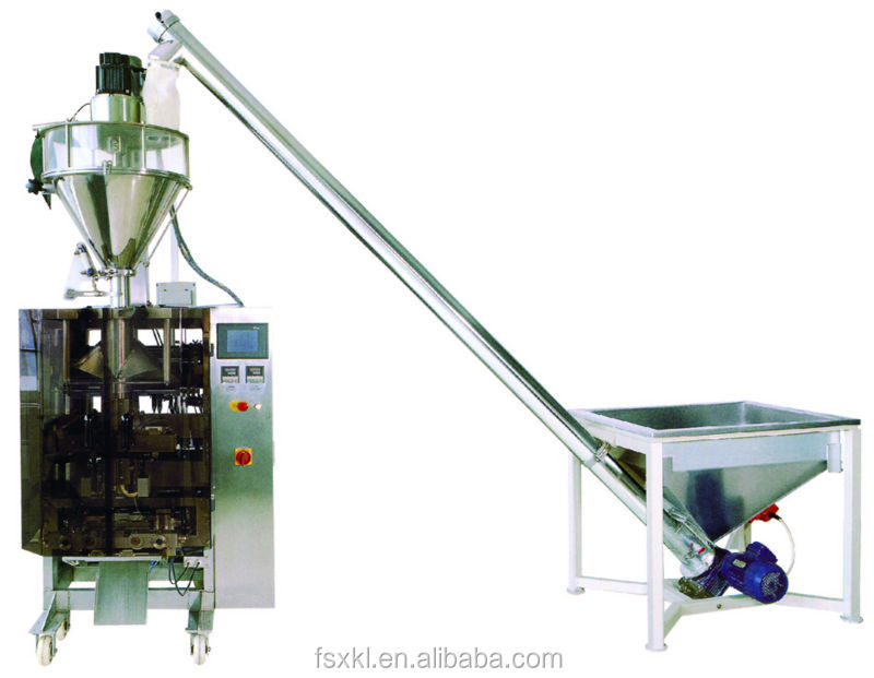 flour powder automatic dispenser packing machine with auger filler