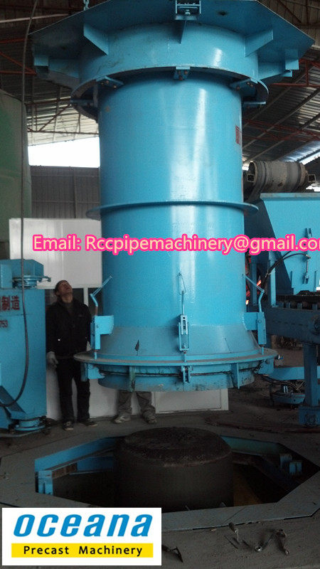 Full-automatic Vertical pipe machine XZ3000 Cement pipe making machine