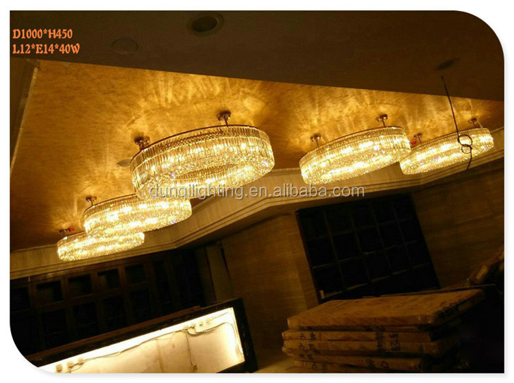 Wholesale handmade Italy crystal chandelier light made in China