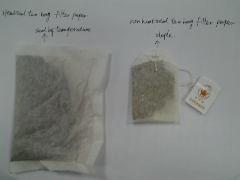 Non-heat seal tea bag filter paper, abaca pulp and mulberry pulp 12.5gsm*94mm, 12.5gsm*103mm