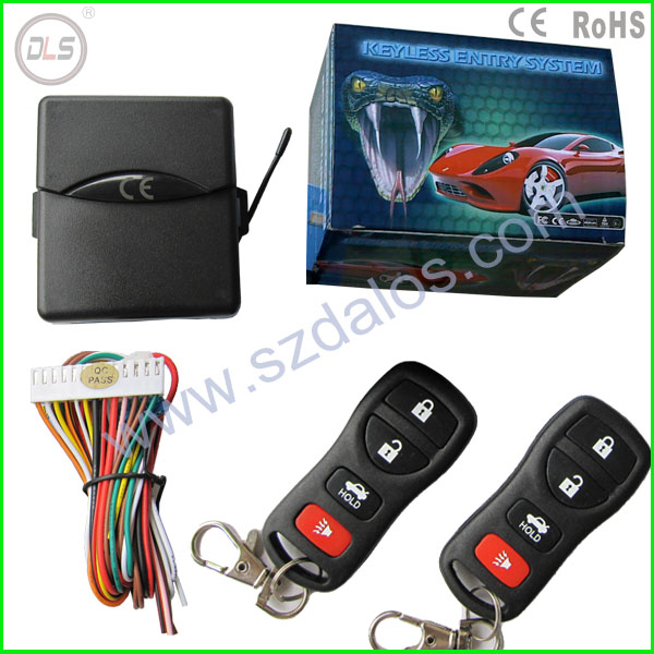 universal car alarm remote control central door lock system car alarm & keyless entry system&central door locking keyless entry