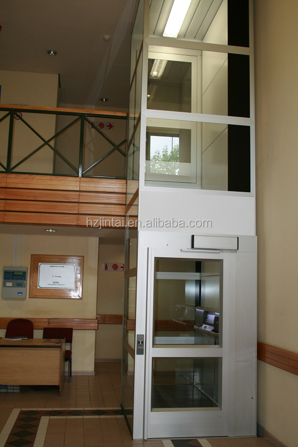 Simple install roomless home elevator lift view home for Simple home elevators