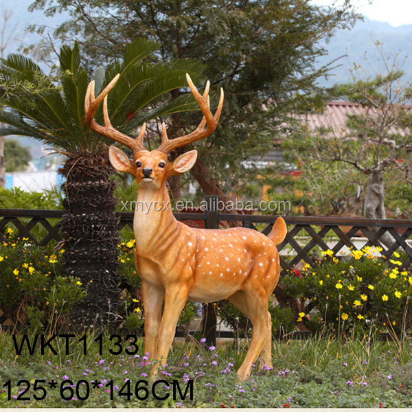 Garden Figurine Life Size Animal Deer Statue Buy Garden