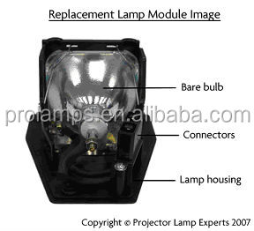 150 Watts Good Selling DELL - 3400MP Original Projector Lamp for Ampoule 725-10003