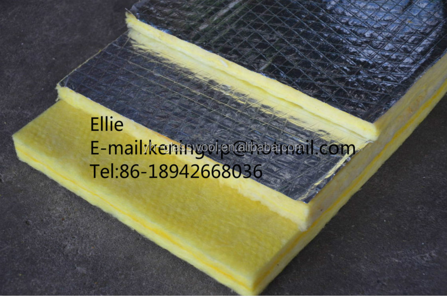 Glass wool blanket heat insulation fiber glass wool for for Fiberglass wool insulation