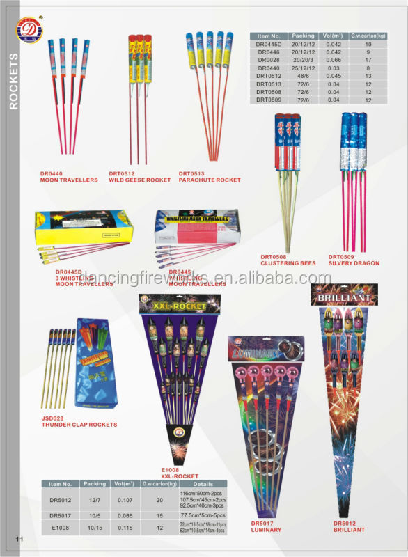 10 Balls Roman Candle Fireworks from factory for New Year Christmas with cheap price 1.4g