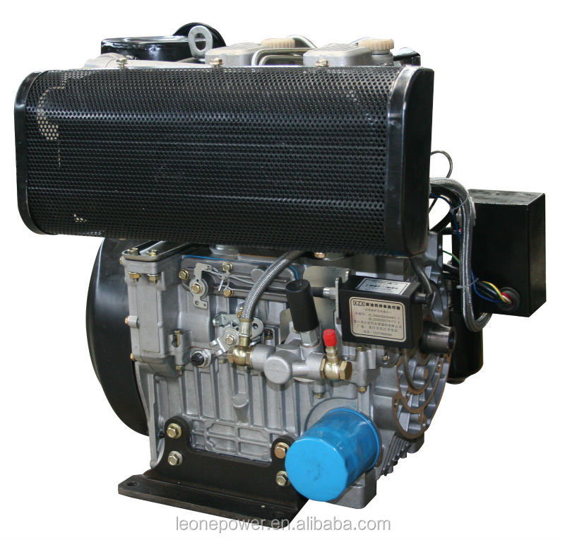 Used Small Boat Engines For Sale: 20hp Two Cylinder Diesel Marine Engine For Sale La290