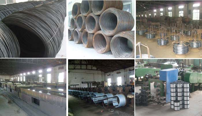 0.4-2.3mm electric galvanized vs hot dipped galvanized steel wires