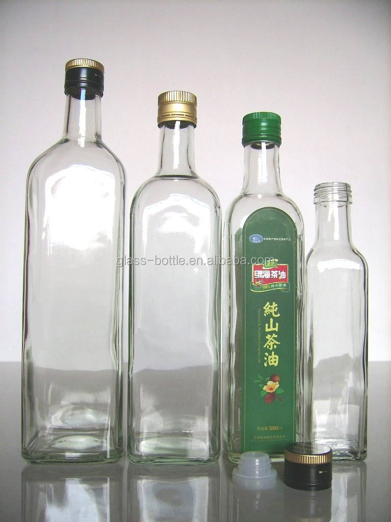 500ml glass olive oil bottles